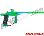 Planet Eclipse 2011 Ego Paintball Gun - Lime/Dust Teal