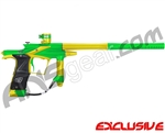 Planet Eclipse 2011 Ego Paintball Gun - Lime/Dust Yellow