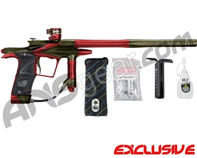 Planet Eclipse 2011 Ego Paintball Gun - Olive/Dark Lava