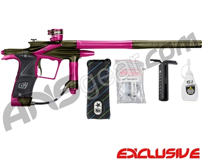 Planet Eclipse 2011 Ego Paintball Gun - Olive/Dust Pink