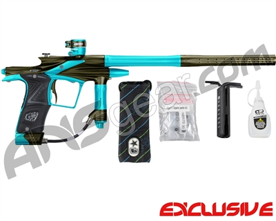 Planet Eclipse 2011 Ego Paintball Gun - Olive/Dust Teal