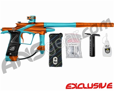 Planet Eclipse 2011 Ego Paintball Gun - Orange/Dust Teal