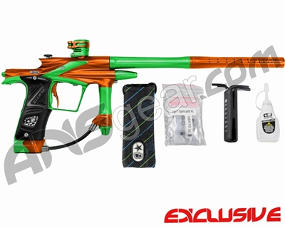 Planet Eclipse 2011 Ego Paintball Gun - Orange/Lime