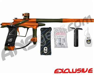 Planet Eclipse 2011 Ego Paintball Gun - Orange/Olive