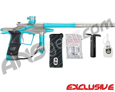 Planet Eclipse 2011 Ego Paintball Gun - Pewter/Dust Teal