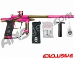Planet Eclipse 2011 Ego Paintball Gun - Pink/Tan