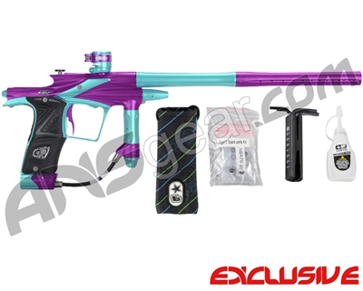 Planet Eclipse 2011 Ego Paintball Gun - Purple/Aqua