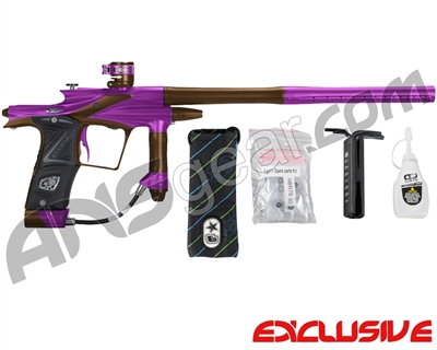 Planet Eclipse 2011 Ego Paintball Gun - Purple/Brown