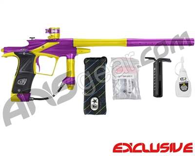 Planet Eclipse 2011 Ego Paintball Gun - Purple/Dust Yellow