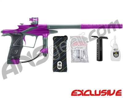 Planet Eclipse 2011 Ego Paintball Gun - Purple/Forest Green