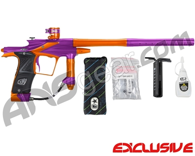 Planet Eclipse 2011 Ego Paintball Gun - Purple/Sunburst Orange