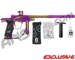 Planet Eclipse 2011 Ego Paintball Gun - Purple/Tan