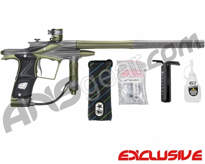 Planet Eclipse 2011 Ego Paintball Gun - Pewter/Olive