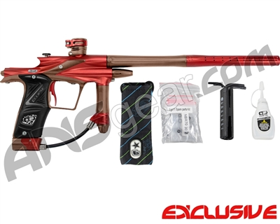 Planet Eclipse 2011 Ego Paintball Gun - Red/Brown