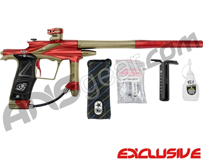 Planet Eclipse 2011 Ego Paintball Gun - Red/Olive