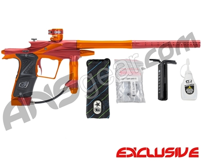 Planet Eclipse 2011 Ego Paintball Gun - Red/Sunburst Orange