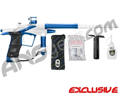 Planet Eclipse 2011 Ego Paintball Gun - Silver/Cobalt