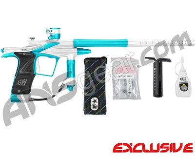 Planet Eclipse 2011 Ego Paintball Gun - Silver/Dust Teal