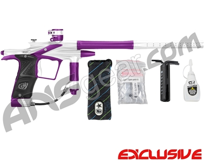 Planet Eclipse 2011 Ego Paintball Gun - Silver/Electric Purple