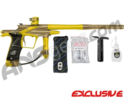 Planet Eclipse 2011 Ego Paintball Gun - Tan/Dust Yellow