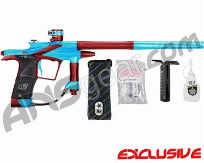 Planet Eclipse 2011 Ego Paintball Gun - Teal/Dark Lava
