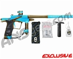 Planet Eclipse 2011 Ego Paintball Gun - Teal/Tan