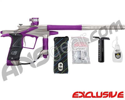 Planet Eclipse 2011 Ego Paintball Gun - Titanium/Electric Purple