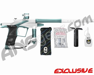 Planet Eclipse 2011 Ego Paintball Gun - White/Aqua