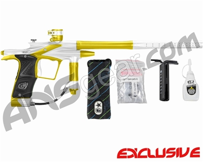 Planet Eclipse 2011 Ego Paintball Gun - White/Dust Yellow