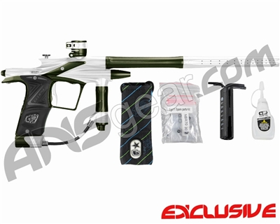 Planet Eclipse 2011 Ego Paintball Gun - White/Olive