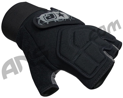 Planet Eclipse 2011 Gauntlet Paintball Gloves - Black