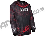 Planet Eclipse 2011 Distortion Paintball Jersey - Emortal Fire