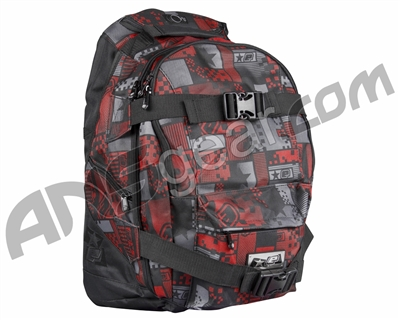 Planet Eclipse 2014 Gravel Backpack - Pixel Red