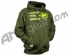 Planet Eclipse 2014 Strike Hooded Sweatshirt - Olive