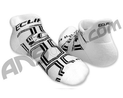Planet Eclipse Ankle Socks - White
