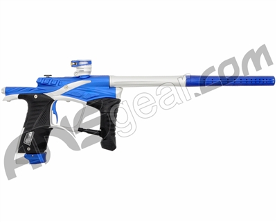 "Planet Eclipse Ego LV1 Paintball Gun - Dynasty ""Waffle"" Milled Edition - Blue/Silver - ""Autographed"""