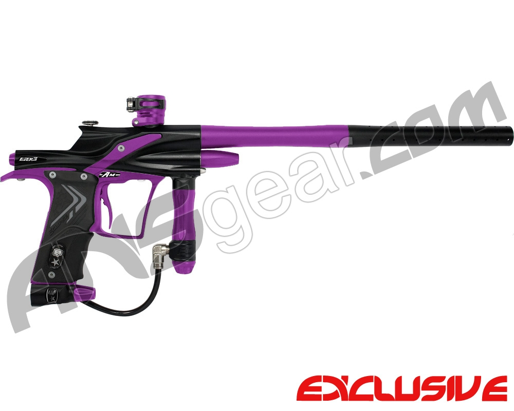 Planet Eclipse Etek 3 AM Paintball Gun - Black/Electric Purple