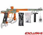 Planet Eclipse Etek 4 AM Paintball Gun - Stretch Poison/Sunburst Orange