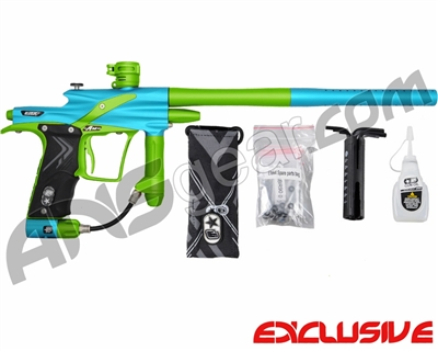 Planet Eclipse Etek 4 AM Paintball Gun - Teal/Sour Apple