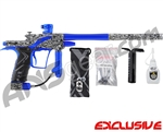 Planet Eclipse Etek 4 AM Paintball Gun - Titan White w/ Cobalt