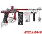 Planet Eclipse Etek 4 AM Paintball Gun - Titan White w/ Dark Lava