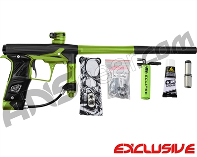 Planet Eclipse Geo 3 Paintball Gun - Black/Lime