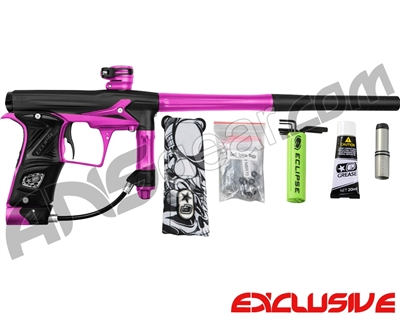 Planet Eclipse Geo 3 Paintball Gun - Black/Pink