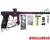 Planet Eclipse Geo 3 Paintball Gun - Black/Purple
