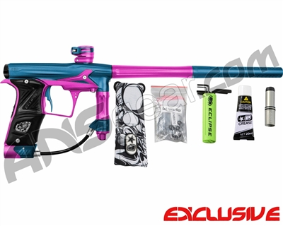 Planet Eclipse Geo 3 Paintball Gun - Blue/Pink