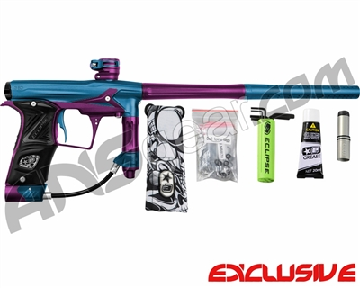 Planet Eclipse Geo 3 Paintball Gun - Blue/Purple