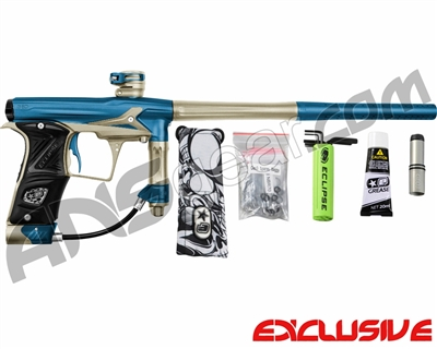 Planet Eclipse Geo 3 Paintball Gun - Blue/Sandstone