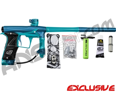 Planet Eclipse Geo 3 Paintball Gun - Blue/Teal