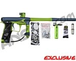 Planet Eclipse Geo 3 Paintball Gun - Dark Blue/Lime