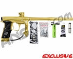 Planet Eclipse Geo 3 Paintball Gun - Gold/Gold